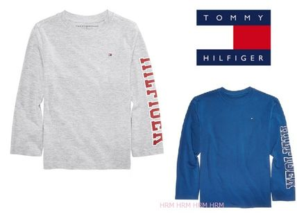 NEW!大人もOK!☆Tommy Hilfiger ☆グラフィック袖ロゴ☆ロンT