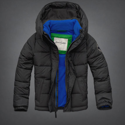 Abercrombie & Fitch キッズアウター かっこいいlightly lined puffer jacket KID(14-16歳)