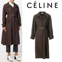 【17AW】大注目!!★CELINE★single breasted trench coat