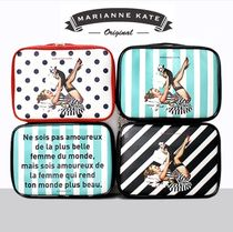 Marianne kate(マリアンケイト) トラベルポーチ Marianne kate★LUCKY DOG MULTIBAG (M)《追跡送料込》
