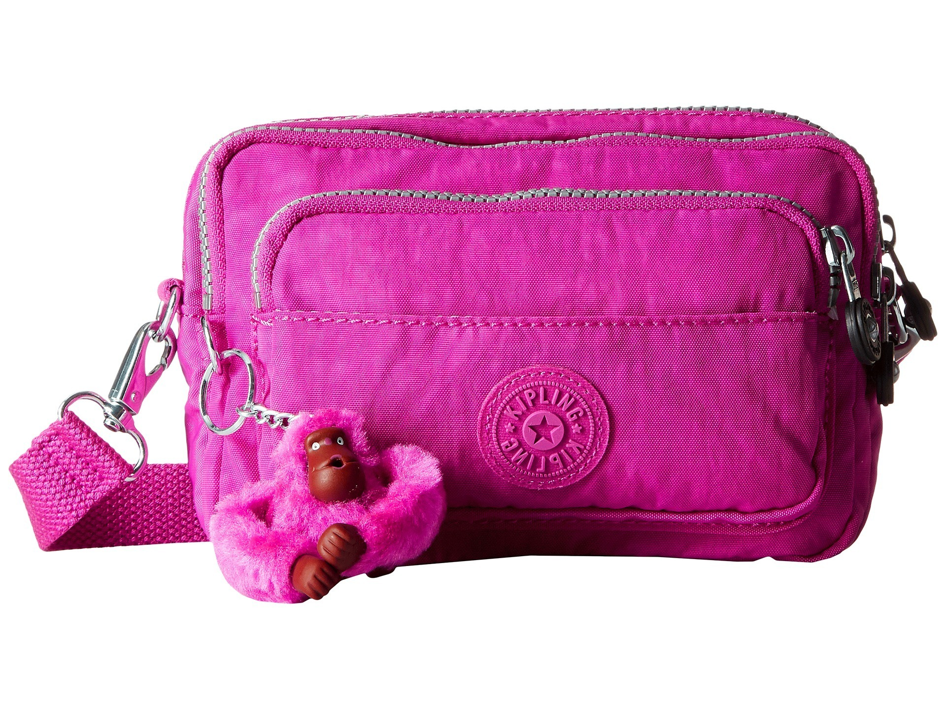 Kipling★Multiple Belt Crossbody Bag▽送料関税込