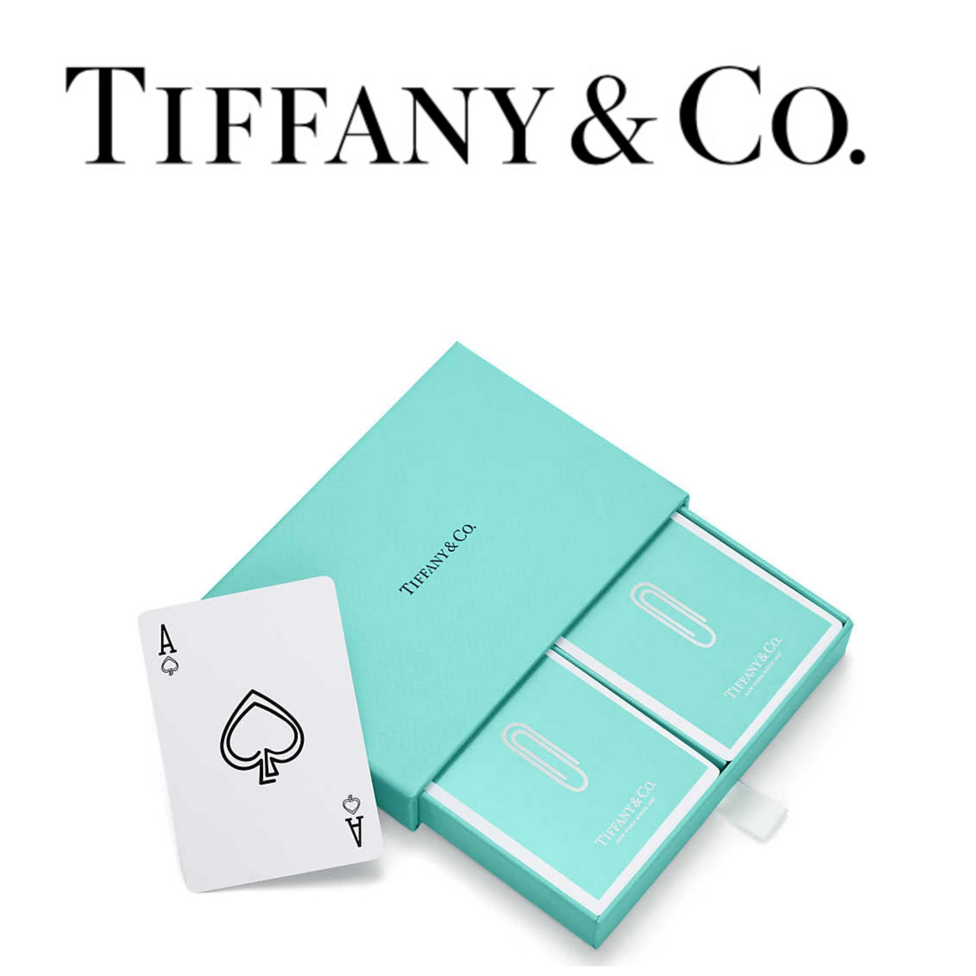 【TIFFANY&CO】●大人気●Paper Clip Playing Cards