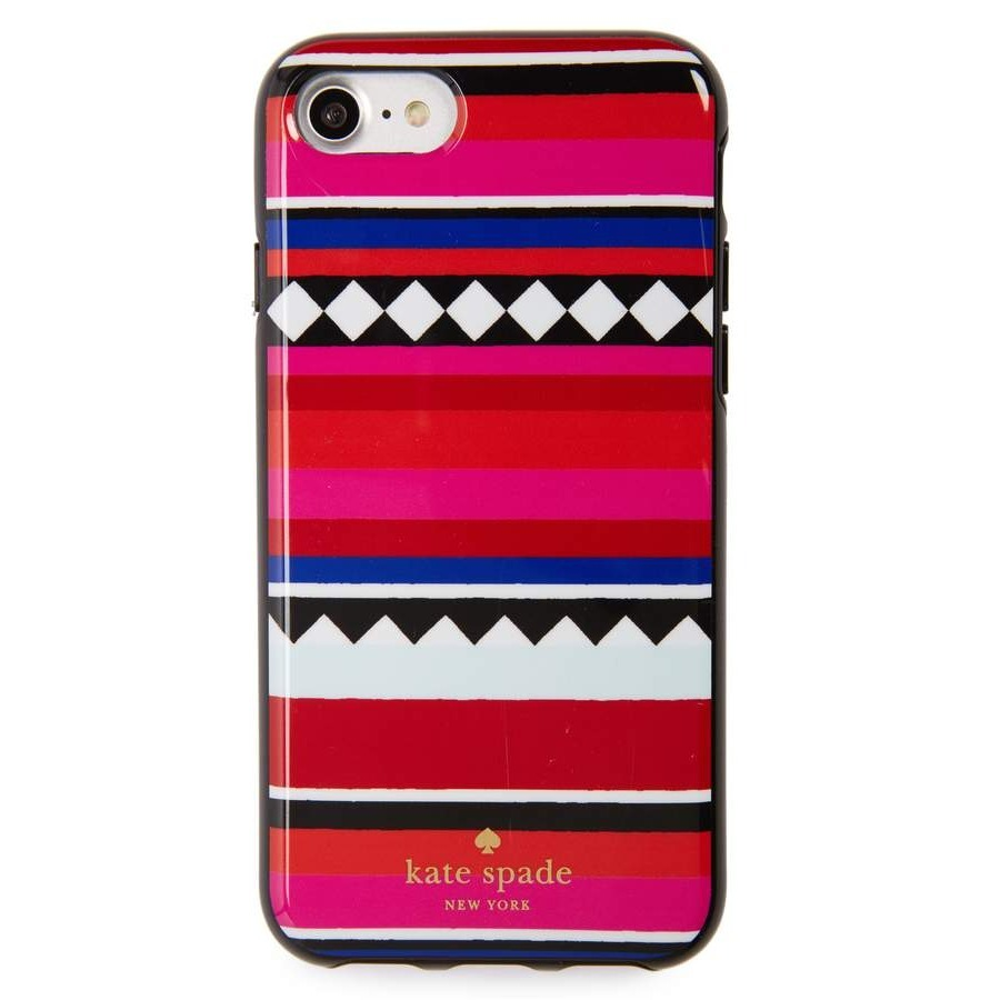 ケイトスペード geo stripe iPhone 7/8 & 7/8 Plus case