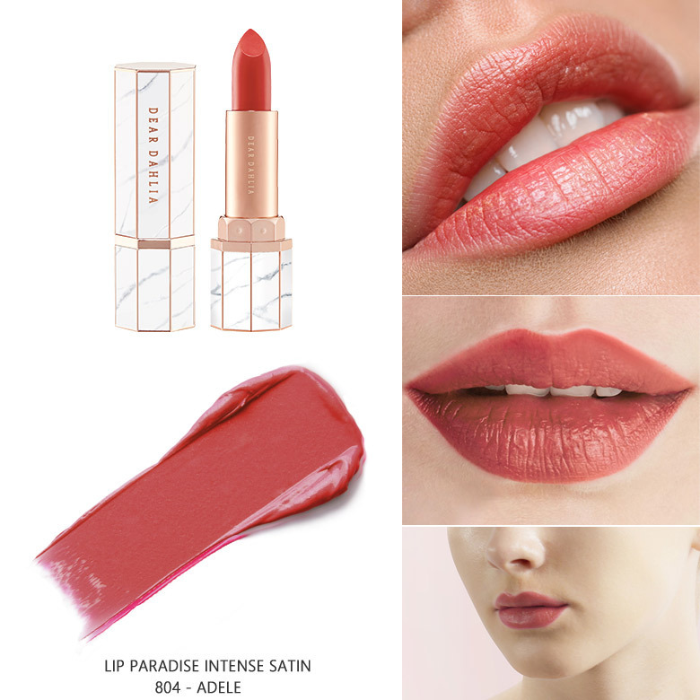 DEAR DAHLIA■LIP PARADISE INTENSE SATIN 6色