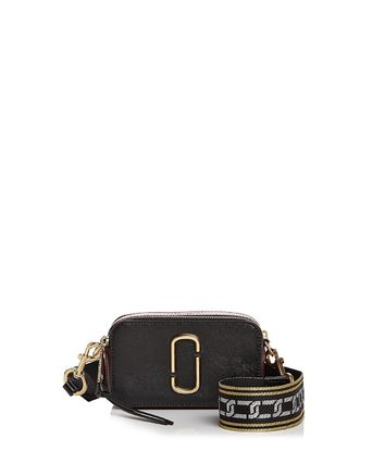 Marc Jacobs☆Snapshot Chain Link Strap Leather Camera Bag