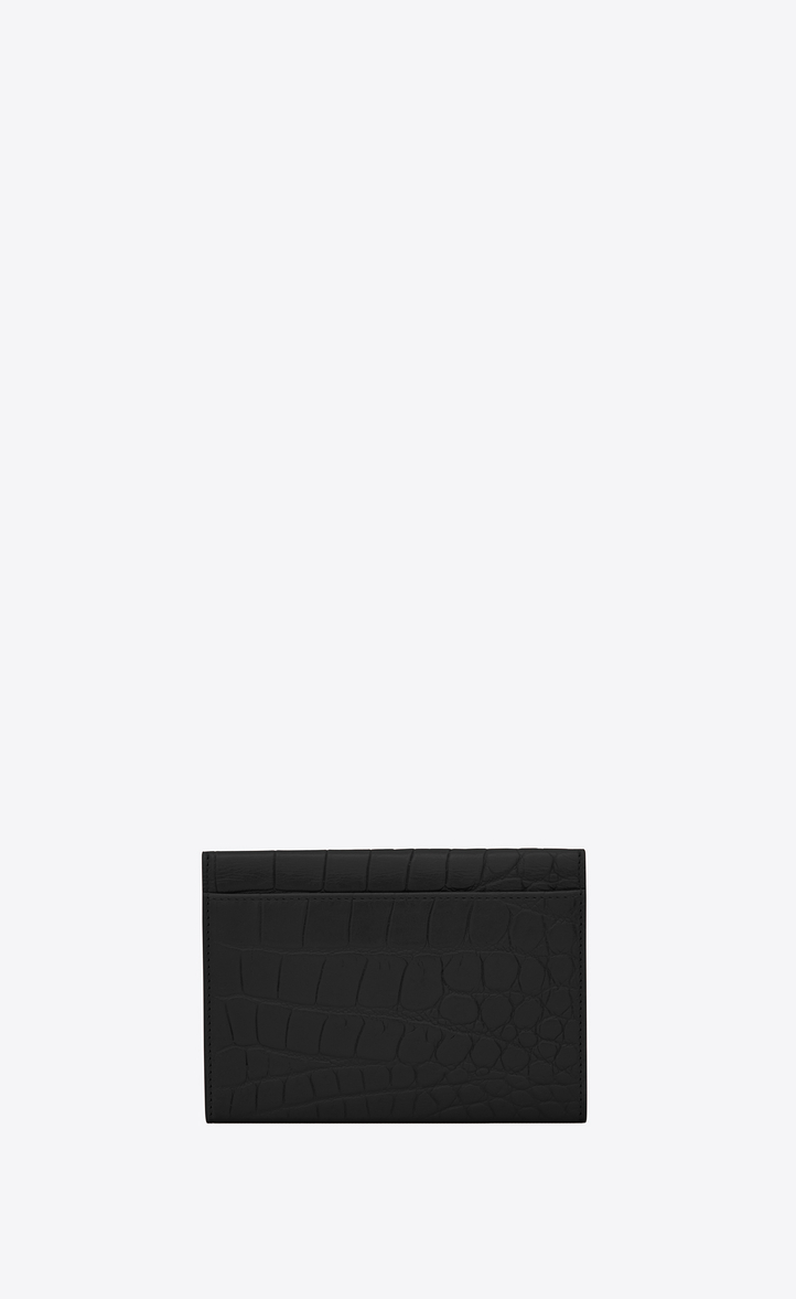 送料関税込☆SAINT LAURENT SMALL MONOGRAM ENVELOPE WALLET