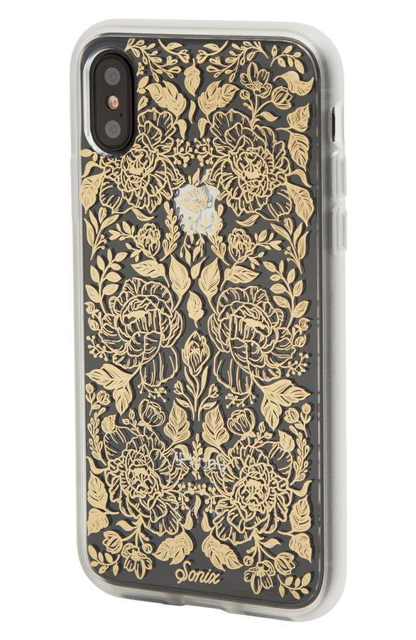 ソニックス Secret Garden Print iPhone X Case