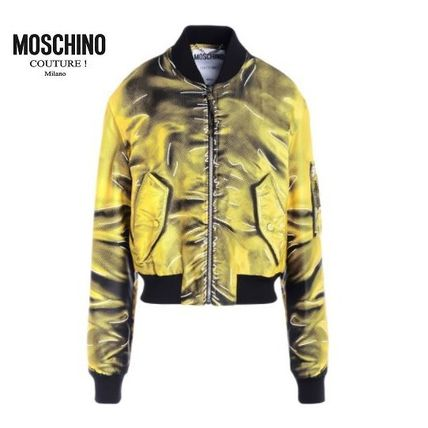 ☆Moschino Couture ☆トロンプ・ルイユ ボンバージャケット☆