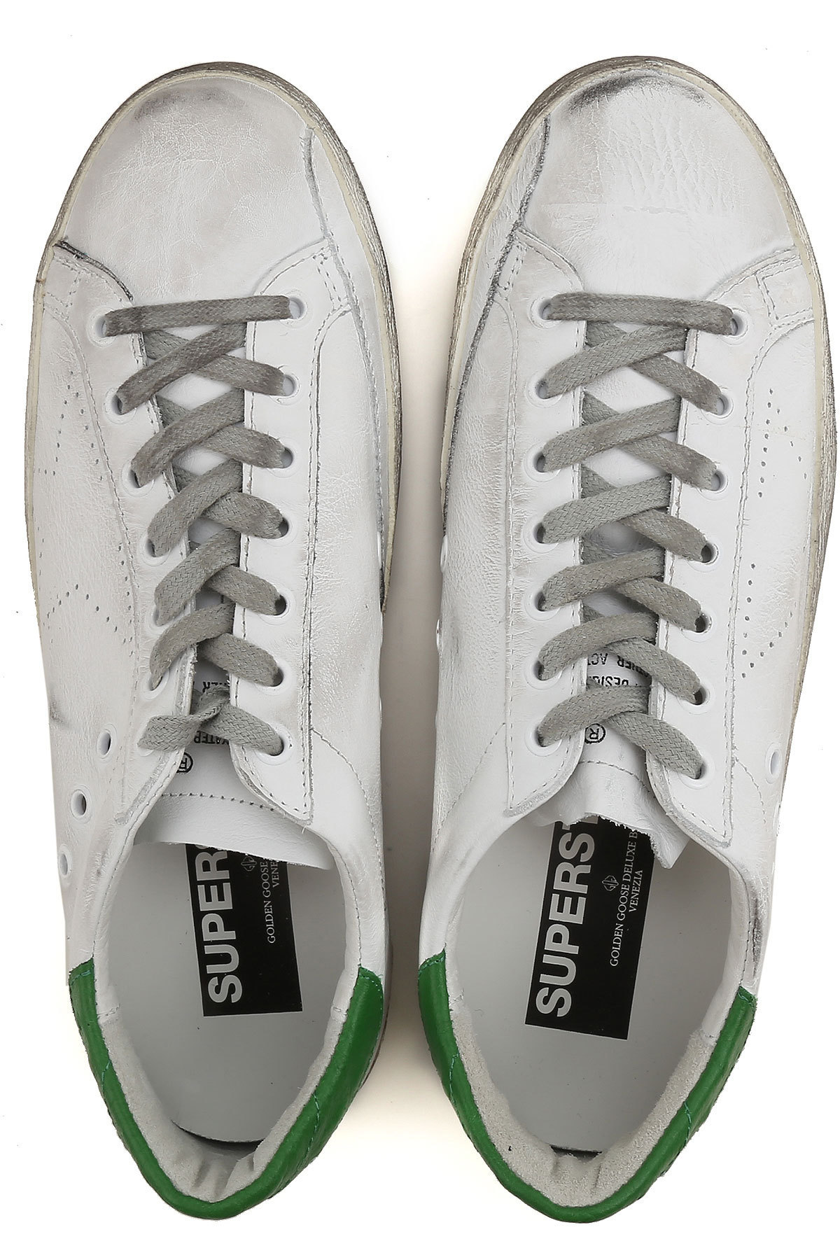 【関税負担】GOLDEN GOOSE SUPERSTAR WHITE/GREEN