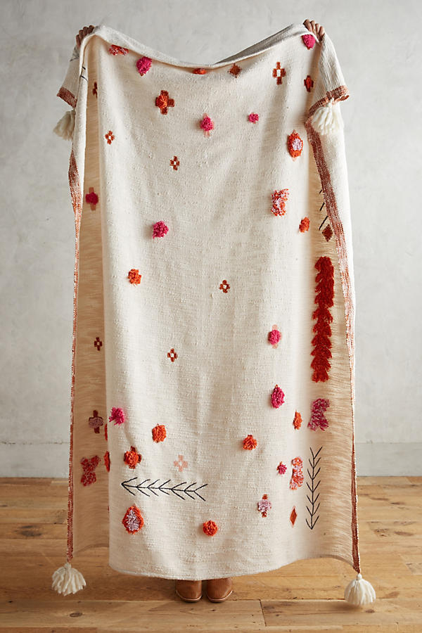 国内発関税込【Anthropologie】18AW人気★Heradia Throw Blanket
