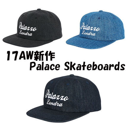 17AW新作 Palace Skateboards PALAZZO 6-PANEL キャップ