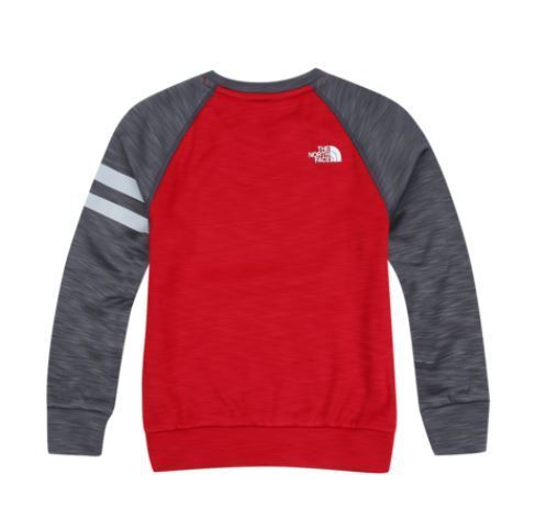 (ザノースフェイス) K'S TECH ALL DAY SWEATSHIRT RED NT5MI51U