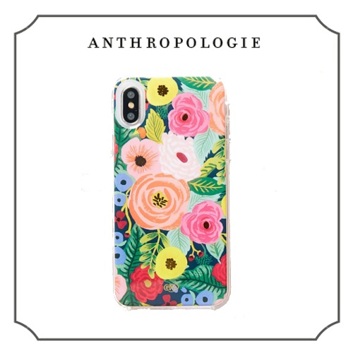 iPhoneX★Anthropologie★Rifle Paper Co.コラボ Julietケース