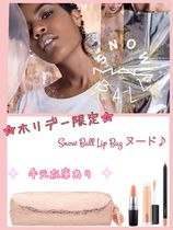 【MAC】2017限定 MAC Snow Ball Lip Bag ヌード