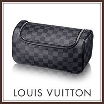 LOUIS VUITTON 国内発送 トワレ・ポーチ ダミエ・グラフィット