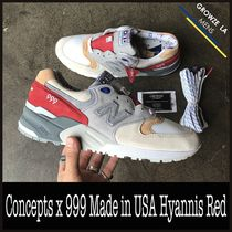 ★【New Balance】Concepts x 999 Made in USA Hyannis Red