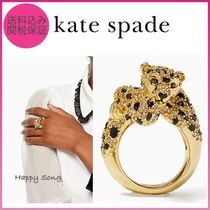 kate spade◆ラン ワイルド チーター リング◆