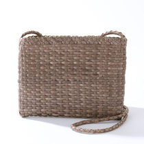 dragon 8835-S ショルダーバッグ POCHETTE B.WEAVE SMALL GREY