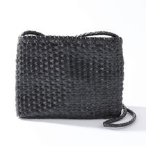 dragon 8835-S ショルダーバッグ POCHETTE B.WEAVE SMALL BLACK