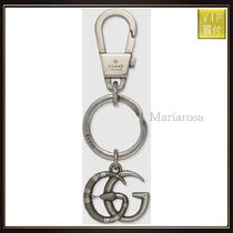 【グッチ】Double G With Snake Keychain キーアクセ