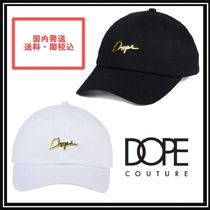 DOPE couture(ドープクチュール) キャップ *関税・送料込*DOPE*24Kスクリプトキャップ