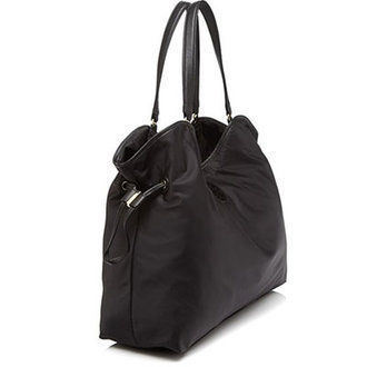 Tory Burch トートバッグ 最新TORY BURCH★ NYLON SLOUCHY TOTE /BLACK/48600円(2)