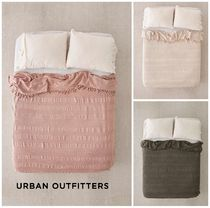 Urban Outfitters☆Vintage Netted Trim Bed Blanket