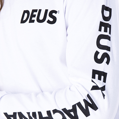 【DEUS】Concentric Long Sleeve T-Shirt/ロングT