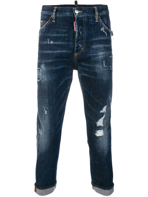 【送関込】17-18AW☆Dsquared2 ☆jean Glam Head デニム