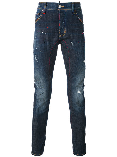【送関込】17-18AW☆Dsquared2 ☆jeans a effet use デニム