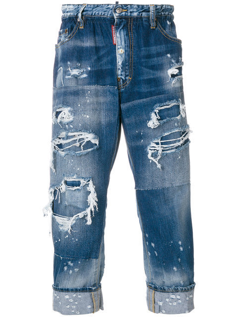 【送関込】17-18AW☆Dsquared2 ☆jean a effet use デニム