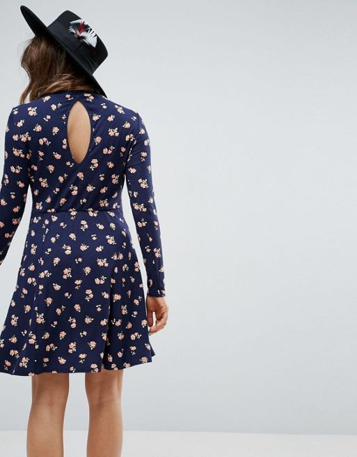 ☆ASOS Maternity Mini Skater Dress in Ditsy Floral☆