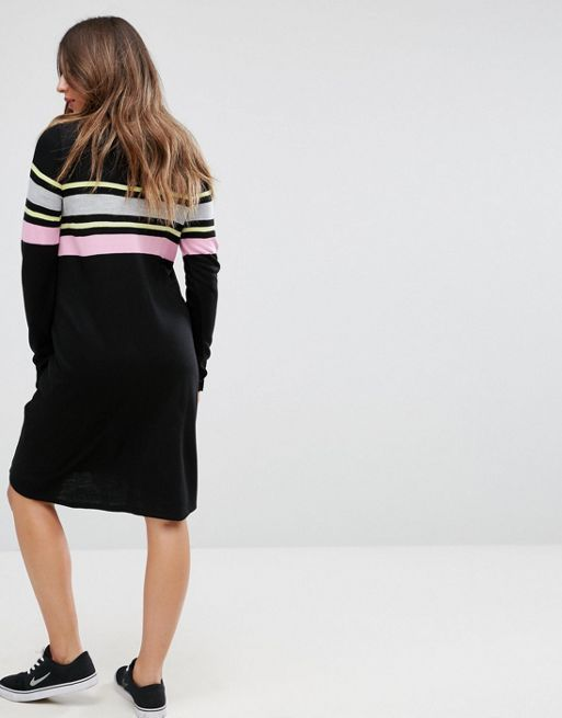 ☆ASOS MATERNITY Knitted Swing Dress With Stripe☆
