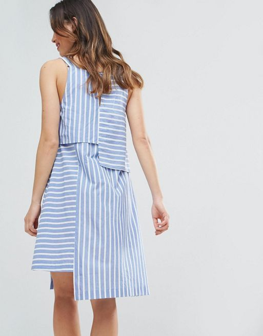☆ASOS Maternity NURSING Cutabout Stripe Dress☆