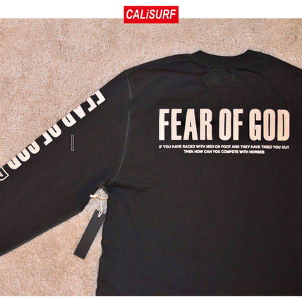 FEAR OF GOD Tシャツ・カットソー FEAR OF GOD(フィアオブゴッド)Inside Out L/S Merch Tee/S-XL