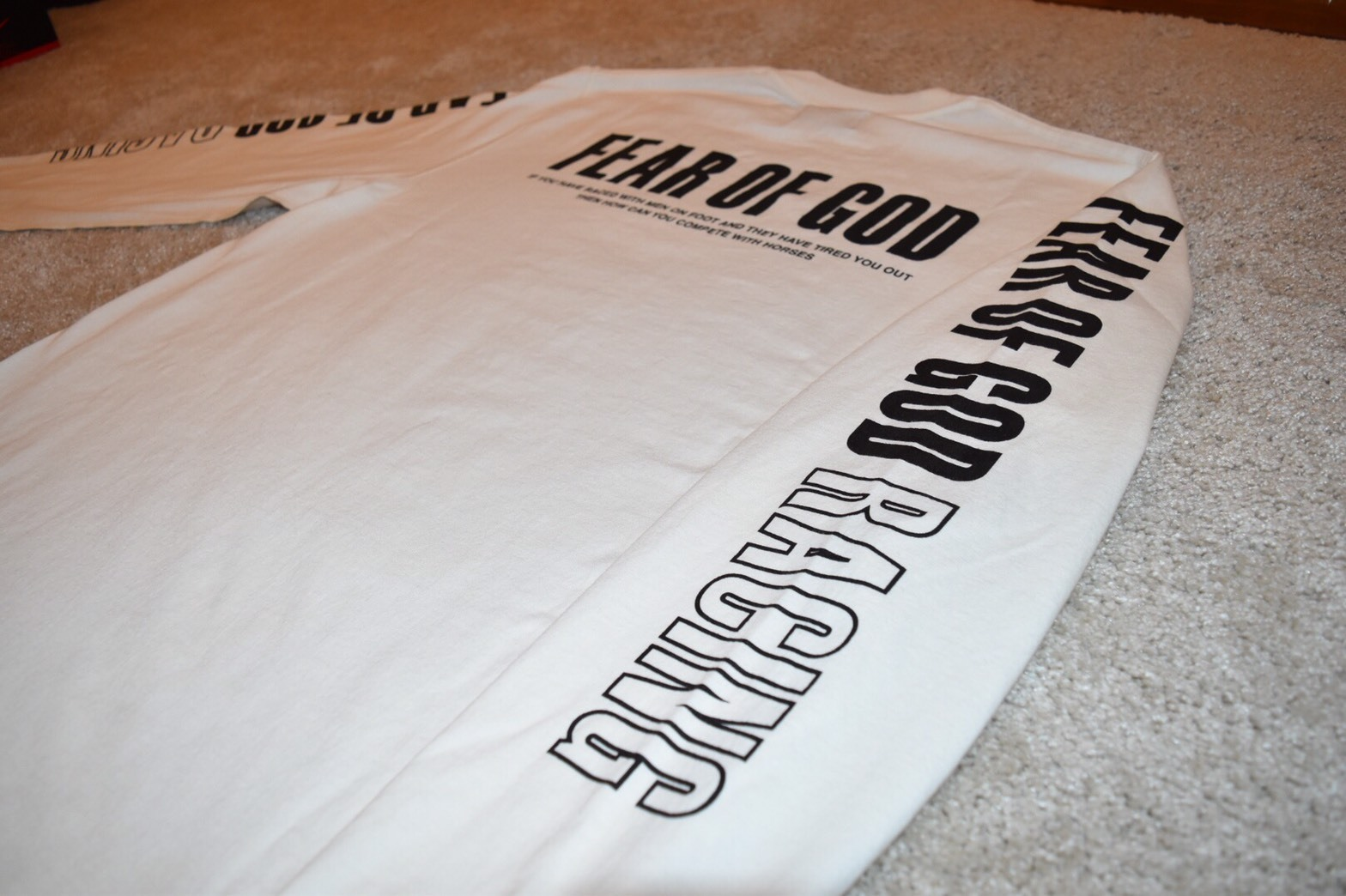 FEAR OF GOD(フィアオブゴッド)Inside Out L/S Merch Tee/S-XL