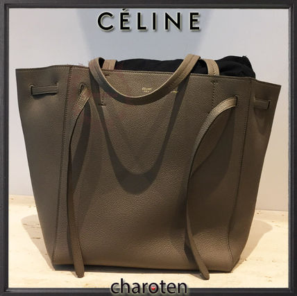 CELINE マザーズバッグ 【関税補償・追跡付】人気トープ♡限定カバスファントムS(3)