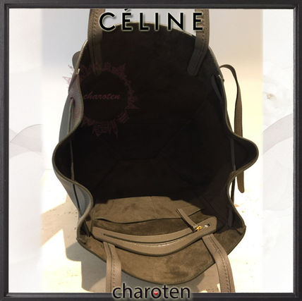 CELINE マザーズバッグ 【関税補償・追跡付】人気トープ♡限定カバスファントムS(5)