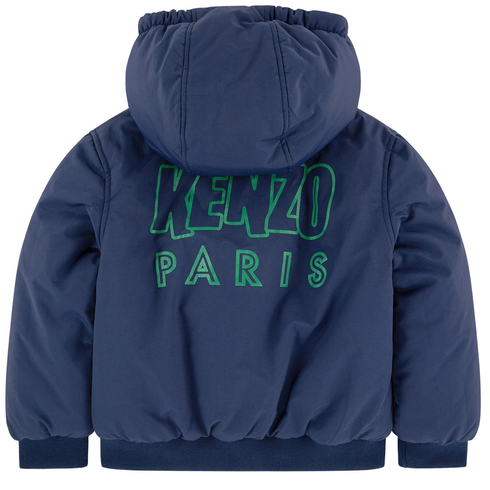 KENZO★2017AW★ロゴ入リバーシブルブルゾン★3~6Y