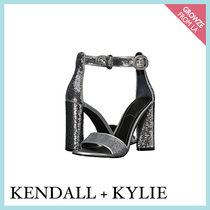 【Kendall + Kylie】新作☆メタリックシルバー ヒール Giselle11