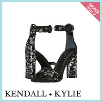 【Kendall + Kylie】新作☆メタリックブラック ヒール Giselle11
