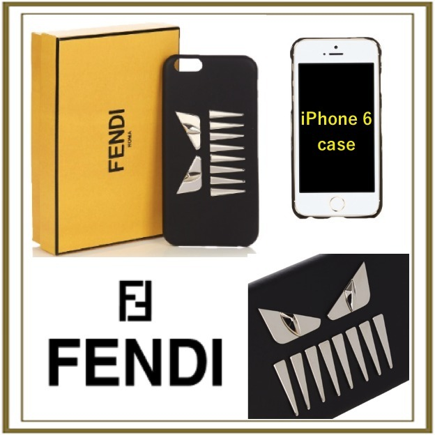 FENDI  Faces leather iPhone6 case[送料関税込み]