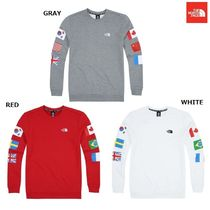 【日本未入荷】 THE NORTH FACE ★ M'S FLAG CREW Tシャツ