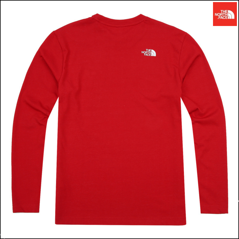 【日本未入荷】 THE NORTH FACE ★ M'S PC BIG LOGO L/S R/TEE