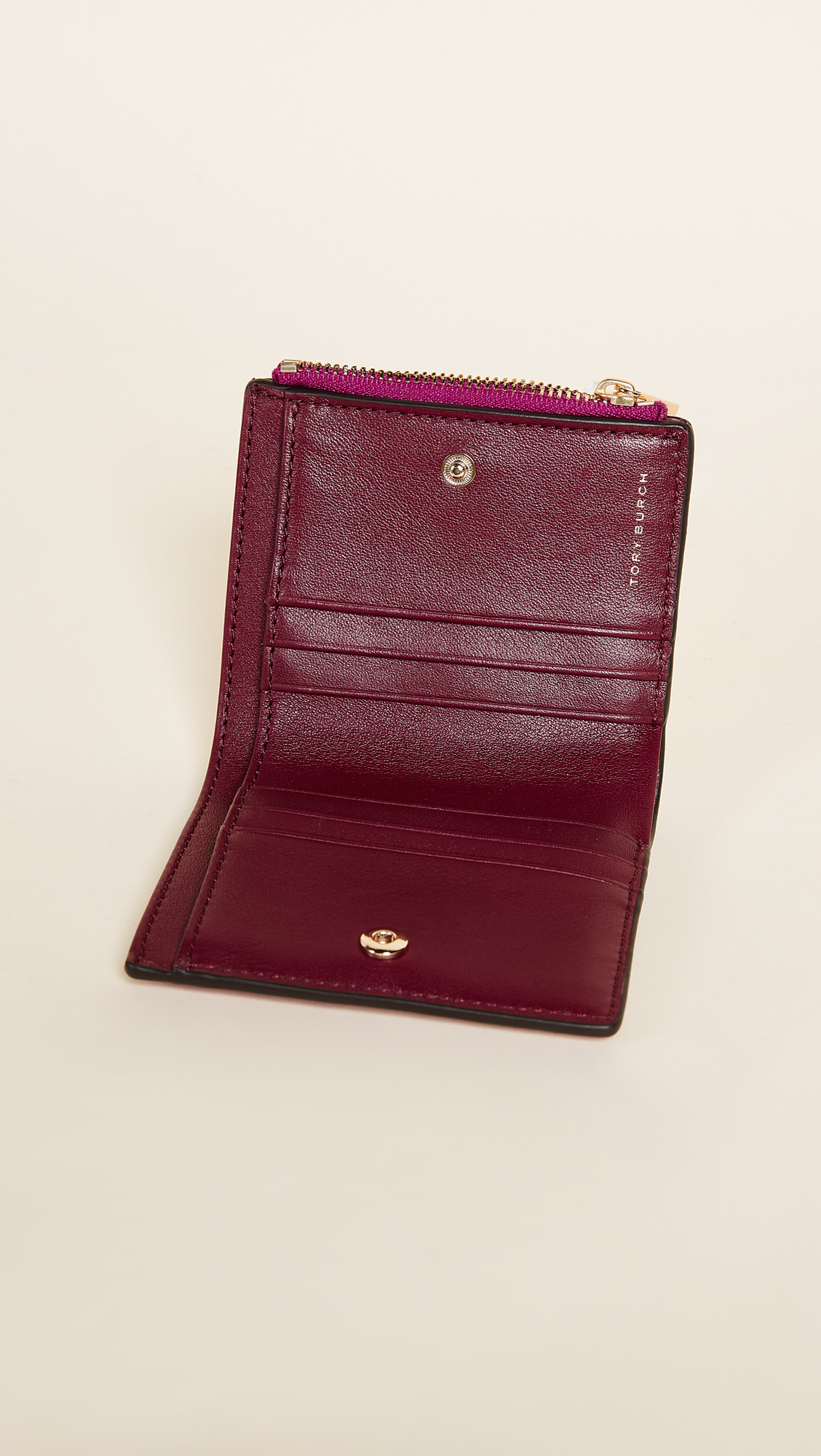 トリーバーチ Robinson Patent Mini Wallet 財布