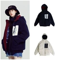 日本未入荷ROMANTIC CROWNのHeavy Fleece Hood Zip Up 全2色