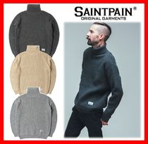 人気【SAINTPAIN】★SP BASIC KNIT TURTLENECK 3色 ☆UNISEX★