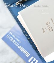【PLEPIC】 Smart Day Leather Sticker   6type