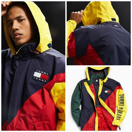 【UO】 新作☆Tommy Hilfiger Colorblocked Sailing Jacket