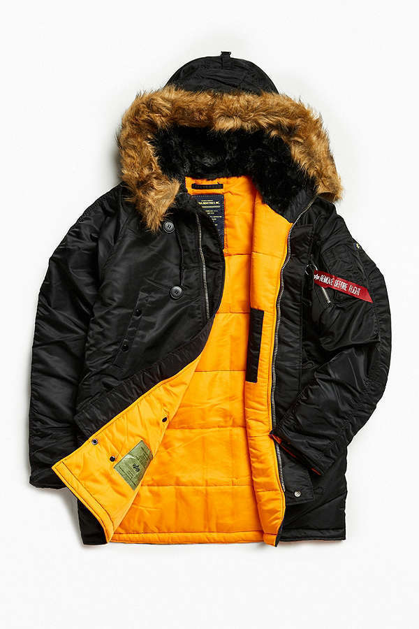 【UO】 新作☆Alpha Industries N-3B Slim-Fit Parka Jacket